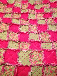 Rag quilt I made