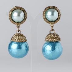 Vintage earrings  www.escolhiadedo.com.br www.instagram.com/escolhiadedo