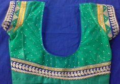 Rawsilk  with net blouse  9866583602,whatsapp no 7702919644