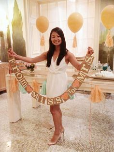 This READY TO SHIP Banner is created with KRAFT thick chipboard Panels and IVORY cardstock Letters. Choose the Heart Colors & Ribbon OR Twine Color