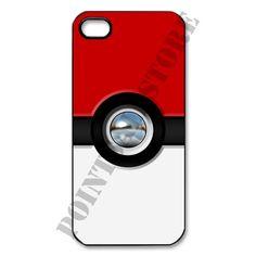 Pokemon Pikahu Pokeball Chrome Apple iPhone 5 Black, white case available