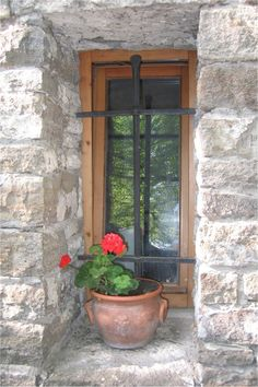 window in Tihany - Balaton/Hungary