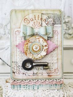 Journey Card - Melissa Phillips for Sizzix