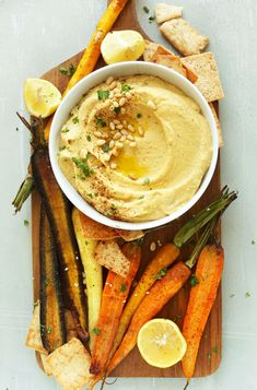 Butternut Squash Hummus | Minimalist Baker | Bloglovin'