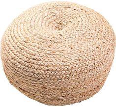 rattan pouf ottoman - Google Search