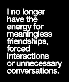 Unnecessary Conversations - Friendship Quotes | Full Dose