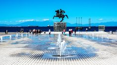 Statue of Alexander the Great ~ A real iconic point in the center of Thessaloniki!