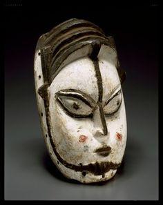FACE MASK FOR EKPO ASSOCIATION culture Edo people culture Benin Kingdom creation date mid-20th c...