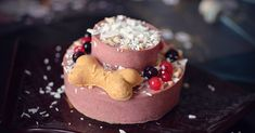 RosaGeburtstagstorte für Hunde selbst backen Rezept für Hundekuchen Whippet, Snacks, Oreo, Panna Cotta, Pudding, Ethnic Recipes, Desserts, Food, Vizsla