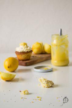 Cupcakes cytrynowe z makiem