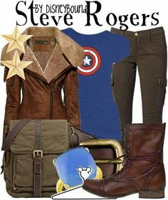 Steve Rogers inspired outfit