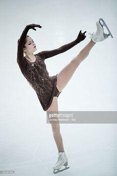 News Photo : Julia Lipnitskaia of Russia competes during...