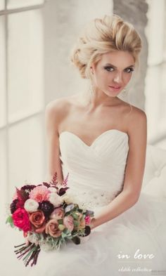 18 most romantic updos wedding hairstyle elstile