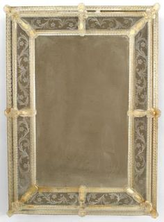 Italian Venetian mirror wall mirror glass