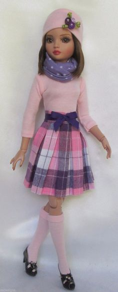 """Ellowyne's Pink and Pretty for Fall for 16"""" Ellowyne etc Made by Ssdesigns   eBay"""