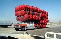Top 20 des véhicules incroyablement chargés, les déménagements en un voyage | Topito