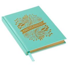 Make Life Beautiful Floral Banner Journal,