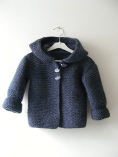 another hooded baby jacket...free pattern