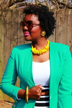 Chioma's Evolution of Style: Cyan, Stripes, & Leopard!