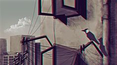 A short animation that depicts the situation of my city Karachi.   The crow has been chosen to symbolize us, the common people flocking the city, going about on our daily business. And even after all the suffering, the life in the city goes on.  Produced and Directed by Zahid Gill  Directed by Kumail Ali Shareef  Animations and Illustrations by Kumail Ali Shareef  Sound Composition Zahid Gill  Research for 3D Stereoscopic Mazher Saddiq, Sohail Siddique and Zahid Gill