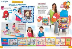 Maestra Jardinera N° 203 - EDIBA.com Baseball Cards, Games, August 17, Teaching Resources, Toys, Game