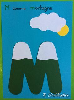 M comme montagne https://www.amazon.com/Kingseye-Painting-Education-Cognitive-Colouring/dp/B075C661CM
