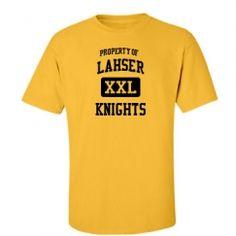 Lahser High School - Bloomfield Hills, MI   Men's T-Shirts Start at $21.97