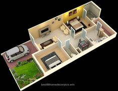 Indian house planning layout - House and home design 2bhk House Plan, 3d House Plans, Indian House Plans, Model House Plan, House Layout Plans, Duplex House Plans, Dream House Plans, Small House Plans, House Layouts