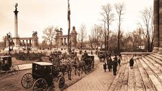 Budapest Hungary, Old Pictures, Historical Photos, The Past, Black And White, History, Retro, Times, Vintage
