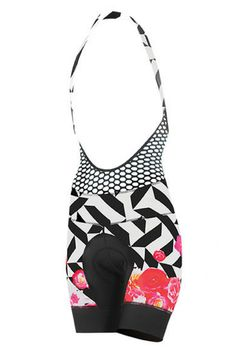 Once you go bib you won't go back! This bib allows you to take it on and off while keeping your jersey on! The halter is designed to slip on and off easily without having to take off your cycling jersey. Perfect for women's indoor cycling, outdoor cycling, or just as a great addition to your cycling clothes!
