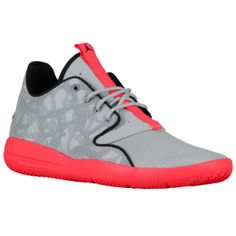 Jordan Eclipse - Boys' Grade School - Wolf Grey/Infrared 23/Black/Cool Grey