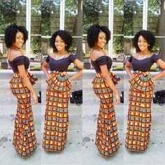 Custom Made African Outfits Long Dresses Wedding Dress Print