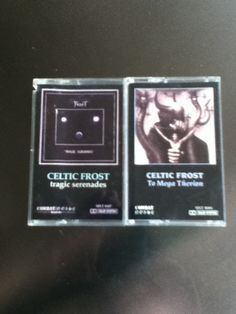 Celtic Frost- Tragic Serenades and To Mega Therion Frost, Albums, Celtic, Metal, Awesome