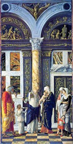 The Circumcision of Christ - Andrea Mantegna