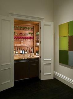 Edwardian Remodel: Wet Bar. www.gemmilldesign.com