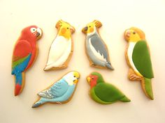 Beautiful decorated cookies