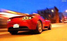 Tesla Roadster. You can download this image in resolution 1920x1200 having visited our website. Вы можете скачать данное изображение в разрешении 1920x1200 c нашего сайта.