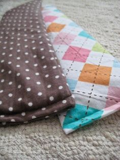 Little and Lovely: DIY: Therapeutic Neck Pillows