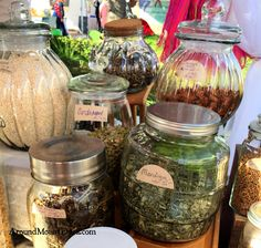 Out & About | Winter Garden Farmer's Market in Central Florida. Love the selection of herbs and spices.