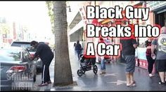 What happens when a white man - black man try to steal the same car?Virtual Class Media