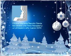 Clínica Mariana Sacoto Navia junto a todo su equipo, les desea una Feliz Navidad y un próspero Año Nuevo 2014.  A tu disposición desde hace más de 25 años para que recuperes la mejor de tus sonrisas. ¡Consultános!