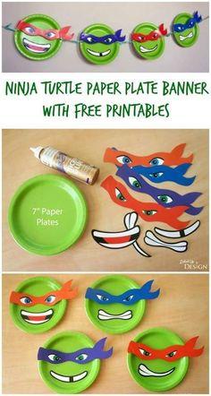 Ninja turtles decoration
