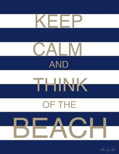 Florida beaches - not Minnesota's fake beaches! :)