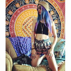 Swooning over this babe, @thestardustbohemian in our Day Tripper Shorts!   Get you a pair at THESOULFULGYPSY.COM