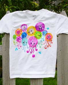 Colorful Jellyfish Shirt