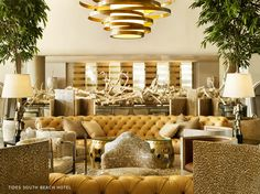 Tides South Beach Hotel by Kelly Wearstler #interiors #design - Love it!