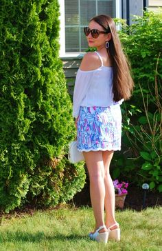 Another shot from my birthday look! #lillypulitzer #summerinlilly #buymelilly #findthelilly #spillthejuice #redrightreturn