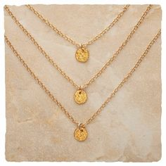 Repin me! I found the 3 Times a Charm Necklace - Gold at http://www.arhausjewels.com/product/nc837/necklaces. $80.00 #arhausjewels necklaces.