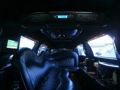 2005 Lincoln Town Car custom luxury interior by Krystal Limousine Sales.