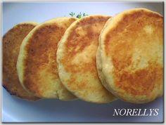 Las Recetas de Norellys: Arepas de Harina de Trigo